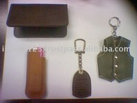Leather Key chain, Lighter Cover, Card Holder