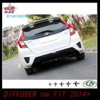 Factory Price New Arrival Rear Bumper Lip,Carbon Rear Diffuser For VW Fit Scirocco Standard Bumper