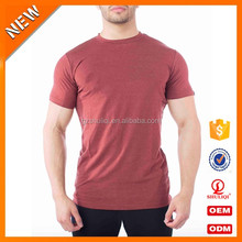 Custom blank dri fit workout t shirts wholesale /custom gym t shirt with wholesale price H-2579