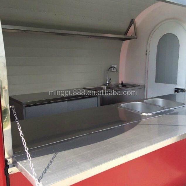 Remorque food carros de comida hot dog cart for sale view - Remorque cuisine barbot ...