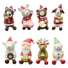 Wholesale hot sale Resin christmas Resin Decoration toys girls boys cheap christmas gifts toy