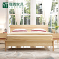 Nankang Oak Solid Wood Bed for Bed Room