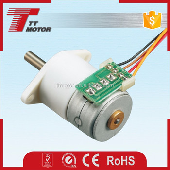 GM12-15BY of 15mm stepper motor with gear box high and low