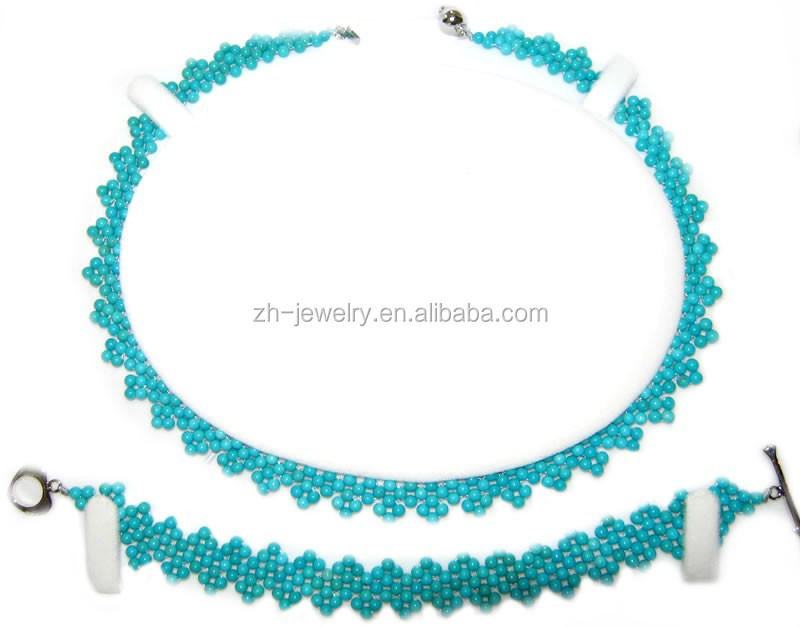 vogue turquoise jewelry wedding necklace