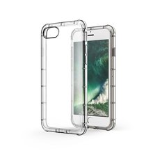Slim Thin Fit Crystal Clear Soft TPU Case For Apple iPhone 7 Shock Absort TPU Bumper Shockproof Cover Protective Cases