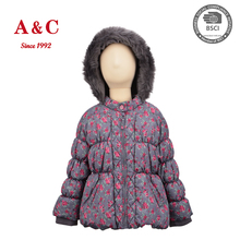 2017 Flower Printed Sweet Children clothing