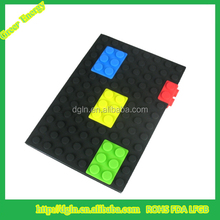 New Products school supplies for students silicone notebook,silicone pocket notebook,mini notebook
