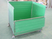 Hengtuo Storage Warehouse Storage Folding Wire Cage