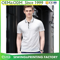high quality 100% cotton dry fit polos men new fashion branded wholesale blank polo shirt