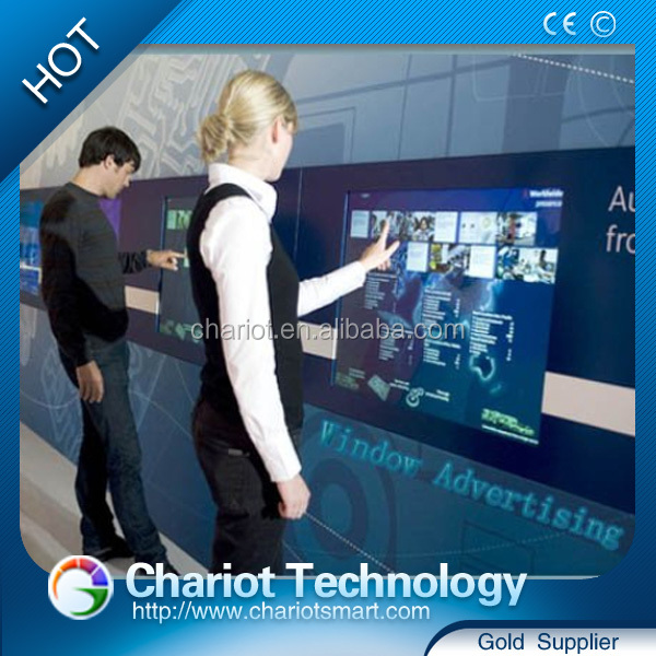 Chariot interactive touch frame games solution, ir multi touch frame.
