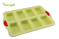8 cup muffin pan with silicone handle