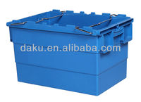 600*400*365mm Stack Nest Plastic Storage Bin with Bars