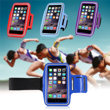 Waterproof neoprene pvc sport armband jogging case for iPhone 6 6S 4.7 inch