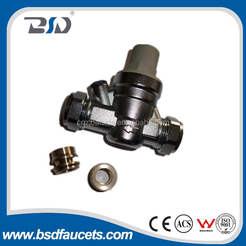 Hot-sellingto UK brass globe adjusting pressure pvc Water Pressure Reducing Valve made in China