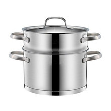 Commercial Durable Cookware Pot Stainless Steel Steamer 30cm