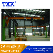 2 ton 3 ton column mounted portable jib crane price , 5 ton small slewing jib crane used fly jib crane for sale