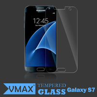 New Updated! 0.33MM 2.5D 9H high transparant anti-broken smart phones tempered glass screen protector for Samsung Galaxy S7