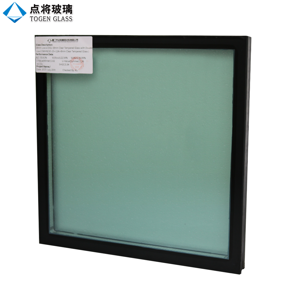 Energy Saving Tempered Building Elevation Glass for Curtain Wall