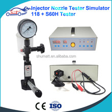ZQYM 118 Common rail injector <strong>nozzle</strong> tester and diesel fuel injector test simulator better than EPS 200