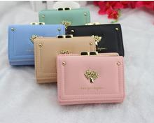 zm33438a latest design women short pattern leather wallet money clip cute ladies purse