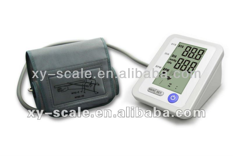 electronic sphygmomanometer arm type blood pressure monitor 90 groups memory heartbeat pulse systolic testing