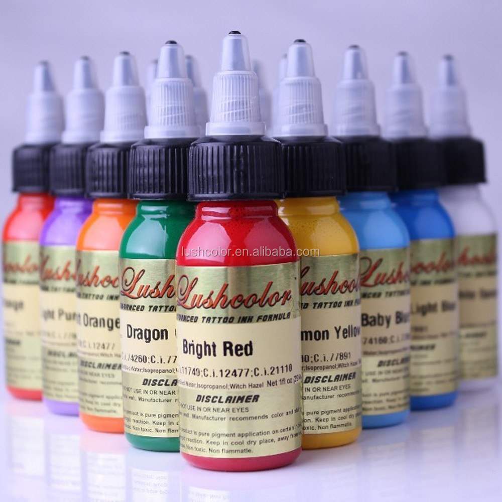 LUSHCOLOR Brand Liquid Tattoo Inks For Permanent Makeup (CTTIL)