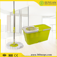 Easy and simple to handle 360 spin mop board