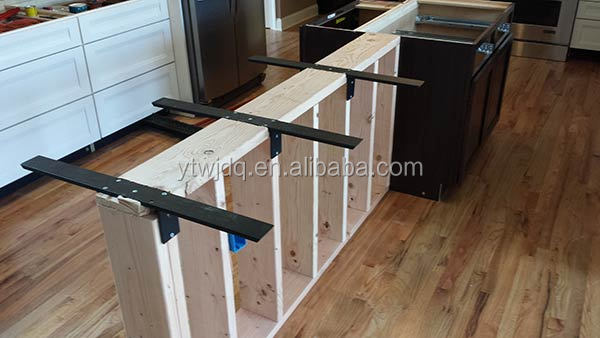 floating countertop folding bracket