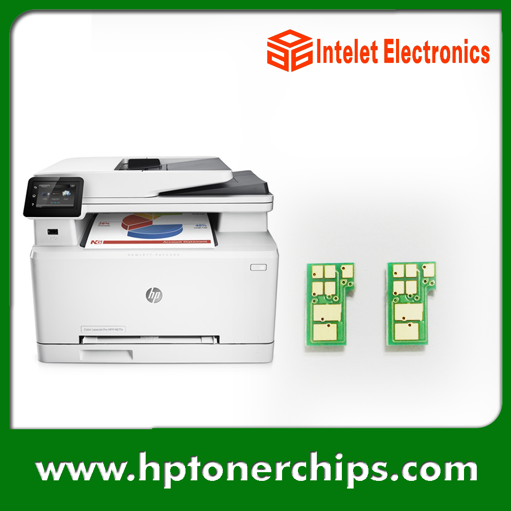 Chip for hp colour cf 400 a cf 400 m252dw m 277n m 252 mfp 252 n - 2016 New Toner Reset Chip For Hp M252 M277 201a 201x