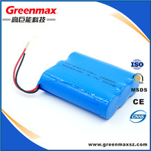 1s1p 3.7 volt li ion battery 18500 1500mah with pcm