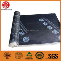 wholesale wide roofing materials sbs/app self-adhesive aluminum felt waterproof rolls membrane