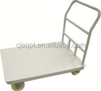 warehouse flat trolley carts for sale