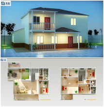 prefab house materials pre fabricated housesmodular house price in South Africa