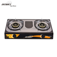 Auto ignition high quality double burner gas stove BW-2032