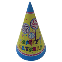 Candy Theme Party Hats