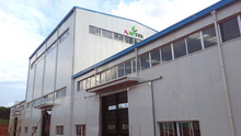 CE certificated prefab steel structure factory building in Nigeria