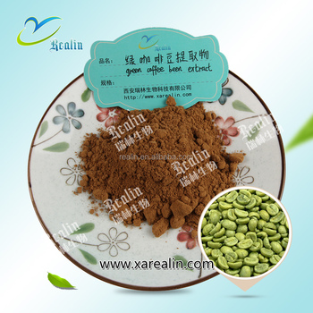 Natural green coffee bean extract capsule chlorogenic acid