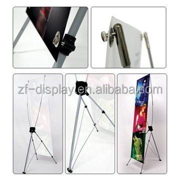 x banner model , X Banner Stand Floor Display for Trade Show Exhibit Expo Office Store