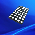 dual color 5x8 dot matrix bi-color led display 10mm