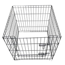 Manufacturer supply cheap wholesale good quality folding welded dog cage pet kennel
