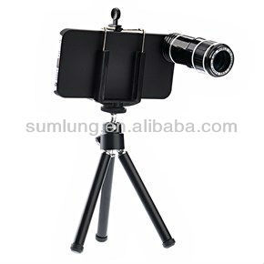 8x telephoto lens for mobile phone with tripod