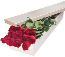 wedding recyled cardboard square packaging flower gift box