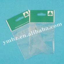 Top selling clear plastic self adhesive opp bag with custom printing