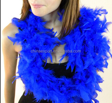 Fashion Colorful New Design Fluffy Cheap Feather Boa For Super Party Queen