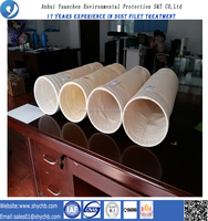 NonWoven filter media vacuum cleaner pps and ptfe composite dust bags for dust collection