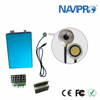 Ultrasonic generator boiler fuel water tank level sensor for fuel monitoring gps tracker fleet manegement