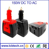 150w Convert USB Port Power Inverter Automobile DC AC car Power Inverter