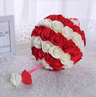 2016 New Product Fashion Cheap Artificial Flower Ball Wedding Flower