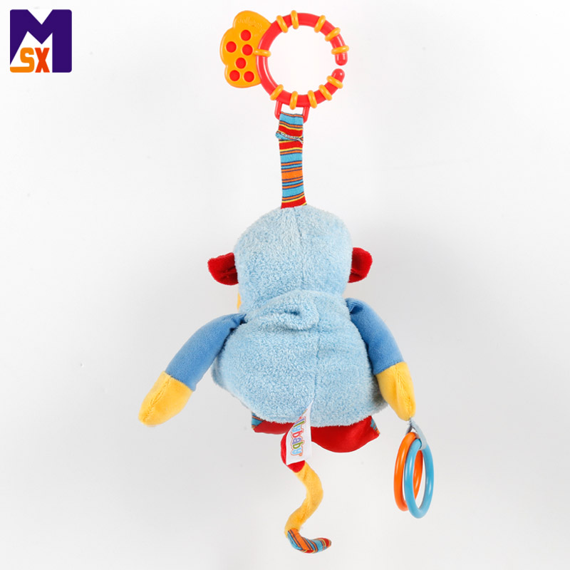 Toys wholesale 2018 stuffed baby soft toy plush hanging monkey