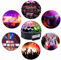Handsfree 3D Surrounding Stereo Stage Party Light Bluetooth Disco Speaker